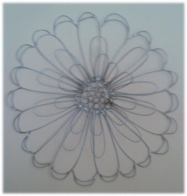 Wire Sculpture Tagged Art Flower Inspired Art Sculpture Wall Wire Wire